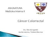 Cáncer de colon 2011 - Medicina Int...