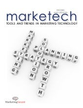Tools and trends in marketing techn...