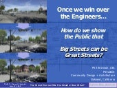 Big Streets can be Great Streets? -...