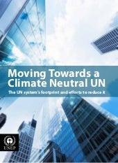Moving Towards a Climate Neutral UN...