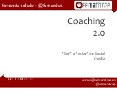 Coaching 2.0, ser o estar en social...