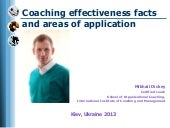 Coaching effectiveness and use