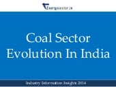 Coal Sector Evolution in India