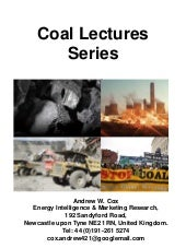 Coal Lectures Series   Mining Techn...