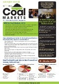Coal Markets2012 Adv Notice