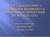 Coal's Global Power Generation Domi...