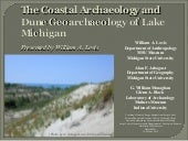 The Coastal Archaeology and Dune Geoarchaeology of Lake Michigan