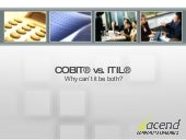 CobiT And ITIL Breakfast Seminar