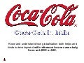 Coca Cola - Introduction to MNC