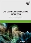 Carbon Mono Oxide Monitor by ACMAS Technologies Pvt Ltd.