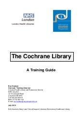 Cochrane training guide revised jul...