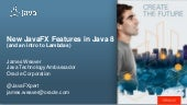 What's new for JavaFX in JDK8 - Weaver