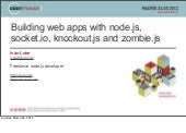 Building web apps with node.js, soc...