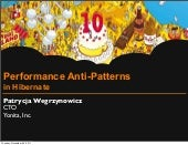 Performance Anti-Patterns in Hibern...