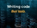 Writing code that lasts - JAB14