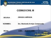 Codigo Civil 3