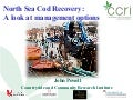 Cod Recovery Plan-Management Options June '12 Presentation