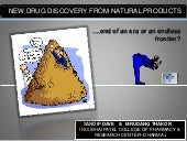 New Drug Discovery from natural pro...