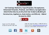 Growth of Coil Coatings Market to 2019