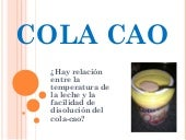 Cola Cao. Didáctica del Medio Natural