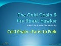 Cold chain for Hawkers