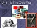 Cold war   origins and elements