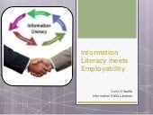 Information Literacy meets Employability
