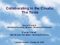 Collaborating In The Clouds