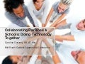 Collaborating Parishes & Schools: Doing Technology Together
