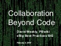 Collaboration Beyond Code