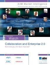 Collaboration and enterprise 2.0   ...