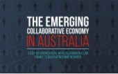 The Emerging Collaborative Economy in Australia