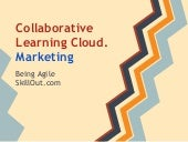 Collaborative learning cloud. Marke...