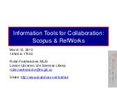 Collaborative Research: Scopus & Re...