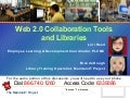 Web 2.0 Collaboration Tools in Libraries