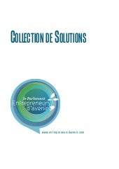 Collection de solutions Entrepreneu...