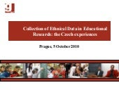 Collection of Ethnical Data in Educ...