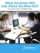 FAQ's About The SAT