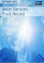 Asset Services Track Record | May2015