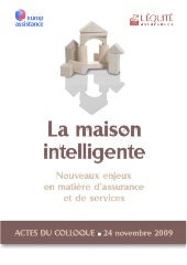 Colloque Maison Intelligente par Eu...