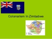 Colonialism in Zimbabwe