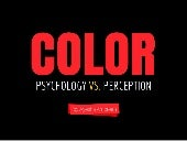 Color: Psychology vs. Perception