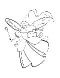 Coloring Page For Kids (Fairy Design)