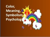 Color Meaning Symbolism and Psychol...