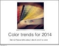 Paint Color Trends for 2014