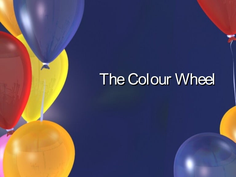 Color Wheel Powerpoint Color Wheel Powerpoint