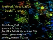 Network Visualization guest lecture...