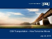 CSX Presentation; Rail Night