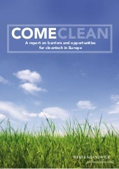 Come Clean Report from Weber Shandwick