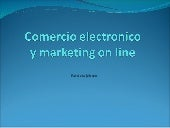 Comercio electronico y marketing on...